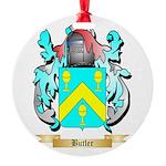 Butler (English) Round Ornament