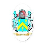 Butler (English) Oval Car Magnet