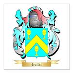 Butler (English) Square Car Magnet 3