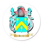 Butler (English) Round Car Magnet