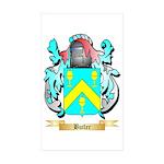 Butler (English) Sticker (Rectangle 50 pk)