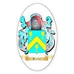 Butler (English) Sticker (Oval 50 pk)
