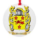 Butcher Round Ornament