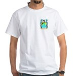 Buswell White T-Shirt