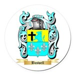 Buswell Round Car Magnet