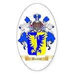 Bustos Sticker (Oval 10 pk)
