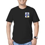 Busto Men's Fitted T-Shirt (dark)
