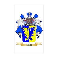 Busto Sticker (Rectangle 50 pk)
