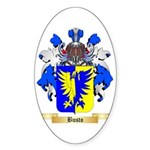 Busto Sticker (Oval 10 pk)
