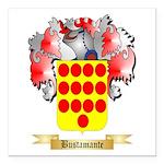 Bustamante Square Car Magnet 3