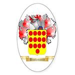 Bustamante Sticker (Oval)