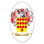 Bustamante Sticker (Oval 50 pk)