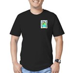 Bussell Men's Fitted T-Shirt (dark)