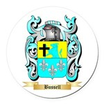 Bussell Round Car Magnet