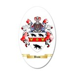 Buss 20x12 Oval Wall Decal