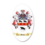 Buss 35x21 Oval Wall Decal