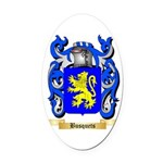 Busquets Oval Car Magnet