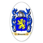 Busquets Sticker (Oval)