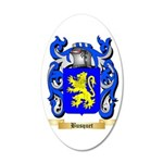 Busquet 35x21 Oval Wall Decal