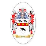 Busk Sticker (Oval 50 pk)