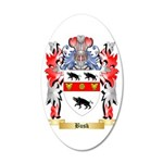 Busk 35x21 Oval Wall Decal