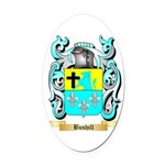 Bushill Oval Car Magnet