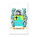 Bushill Rectangle Car Magnet