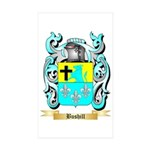 Bushill Sticker (Rectangle 50 pk)