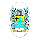 Bushill Sticker (Oval 50 pk)