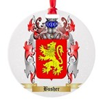 Busher Round Ornament