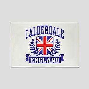 Calderdale England Rectangle Magnet