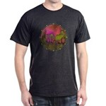 The Woods II Magenta Dark T-Shirt