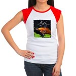 Orange Koi Women's Cap Sleeve T-Shirt