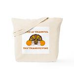 Twice Thankful Thanksgiving Tote Bag
