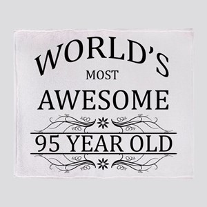 World's Most Awesome 95 Year Old Throw Blanket