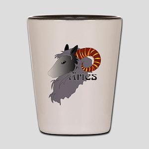 Whimsical Aries Shot Glass