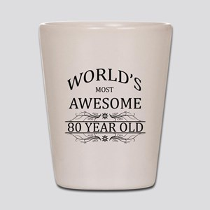 World's Most Awesome 80 Year Old Shot Glass