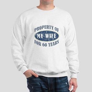 Funny 60th Anniversary Sweatshirt