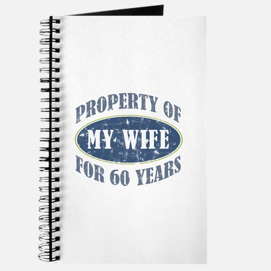 Funny 60th Anniversary Journal