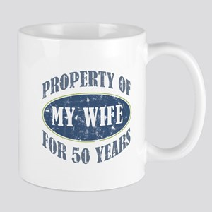 Funny 50th Anniversary Mug