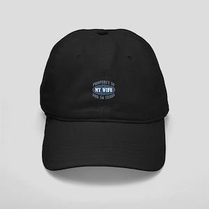 Funny 50th Anniversary Black Cap
