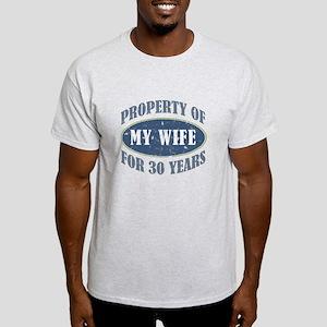 Funny 30th Anniversary Light T-Shirt