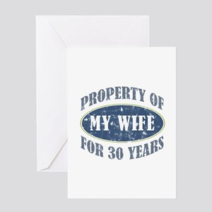 Funny 30th Anniversary Greeting Card