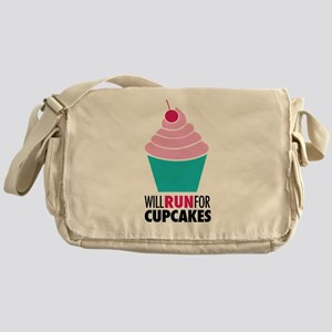 Cupcake RUnner Messenger Bag