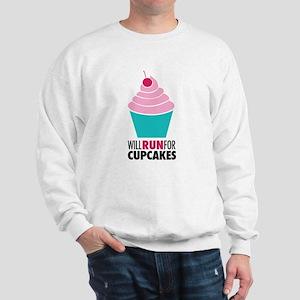 Cupcake RUnner Sweatshirt