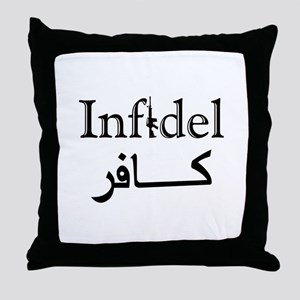 Infidel Throw Pillow