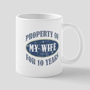 Funny 10th Anniversary Mug