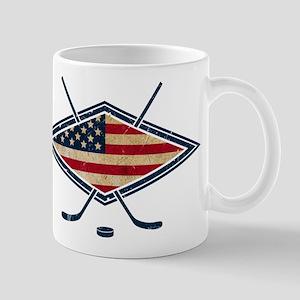 USA Hockey Flag Logo Mug