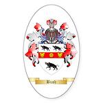 Bush Sticker (Oval 10 pk)