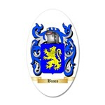 Busco 35x21 Oval Wall Decal